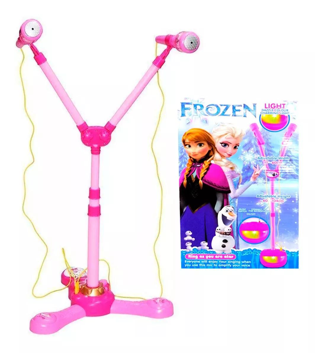 Microfono Karaoke X2 Frozen Juguete Niña Image