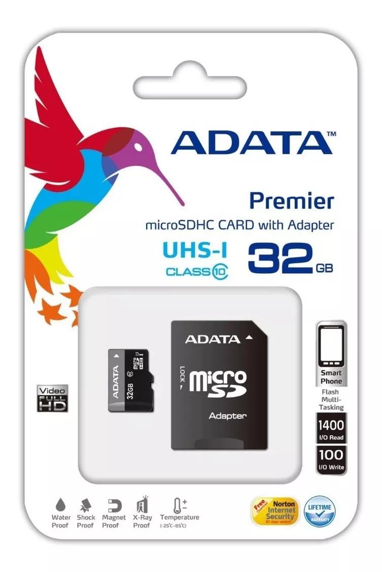 Memoria Micro Sd 32 Gb Adata UHS-I Image